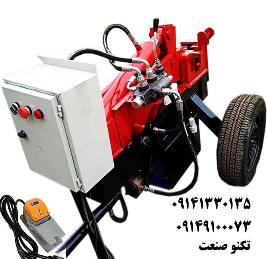 دستگاه خم و برش میلگرد 32 بر تک فاز پدالی تکنو صنعت - مدل TSG231-P