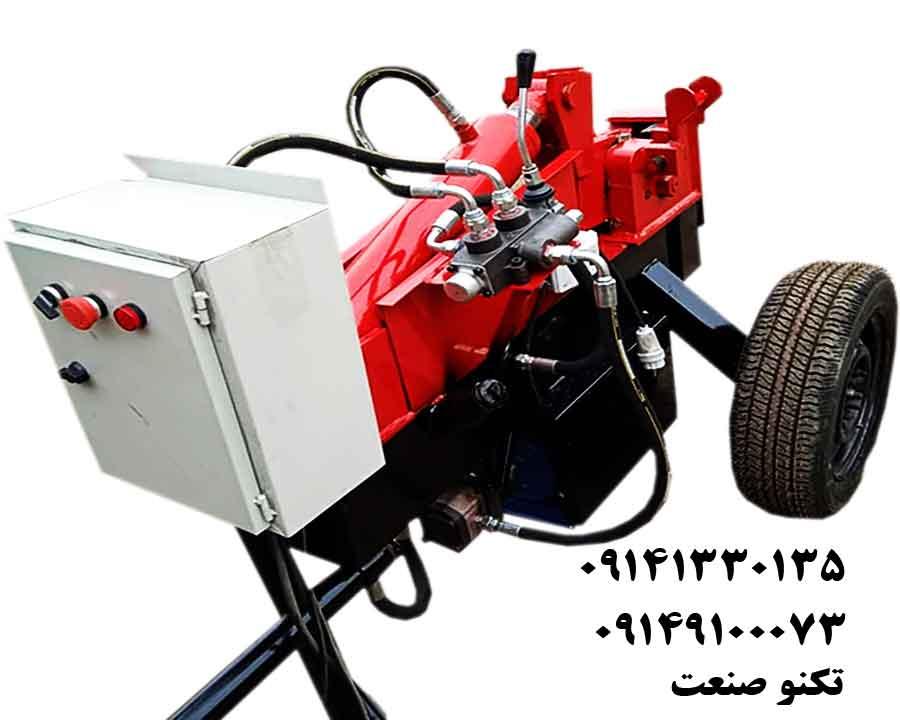 دستگاه خم و برش میلگرد 32بر سه فاز با تابلو برق تکنو صنعت - مدل TSG253-T