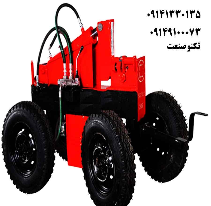 دستگاه خم و برش میلگرد 32 بر تک فاز تکنو صنعت - مدل TSG431