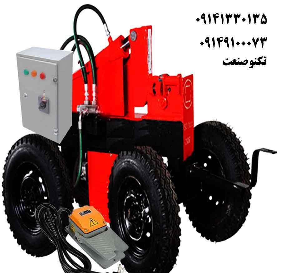 دستگاه خم و برش میلگرد 32 بر تک فاز پدالی تکنو صنعت - مدل TSG453-P