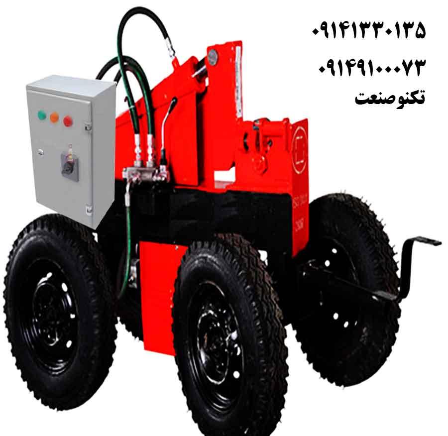 دستگاه خم و برش میلگرد 32بر سه فاز با برق تکنو صنعت مدل TSG453-T