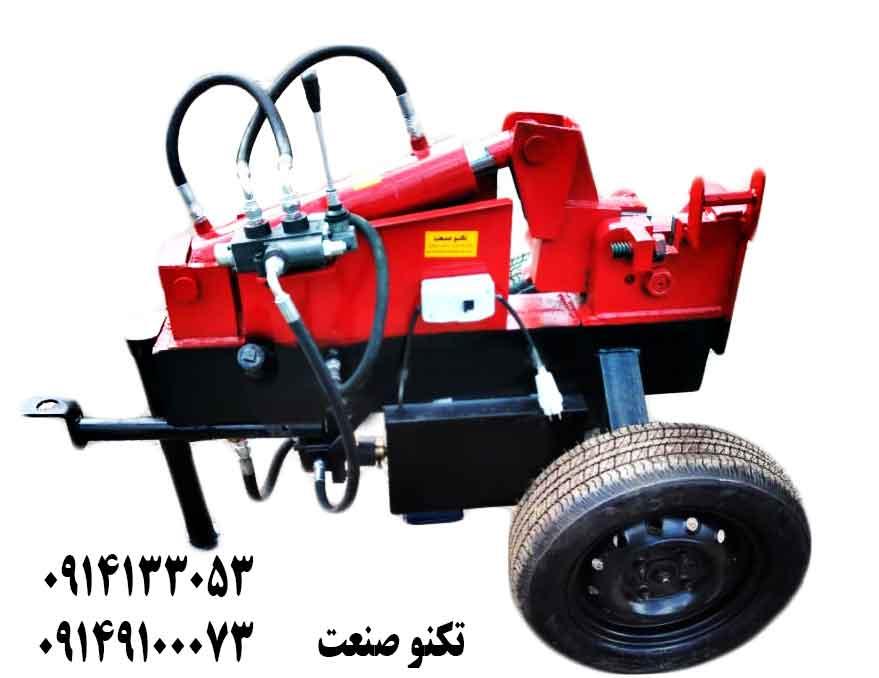 دستگاه خم و برش میلگرد 32 بر تک فاز تکنو صنعت - مدل TSG231