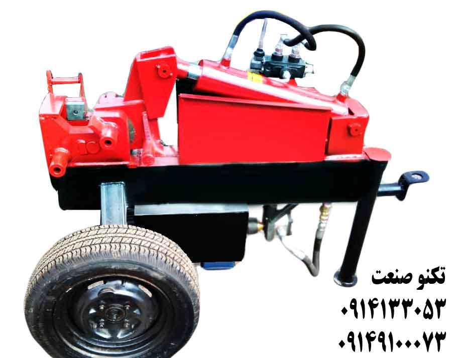 دستگاه خم و برش میلگرد 32 بر سه فاز تکنو صنعت - مدل TSG253